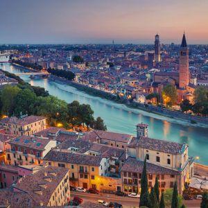 Verona: Vista panoramica, Casa di Giulietta, Piazza delle erbe