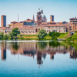 Mantova: Palazzo del Te, Duomo (km 34)
