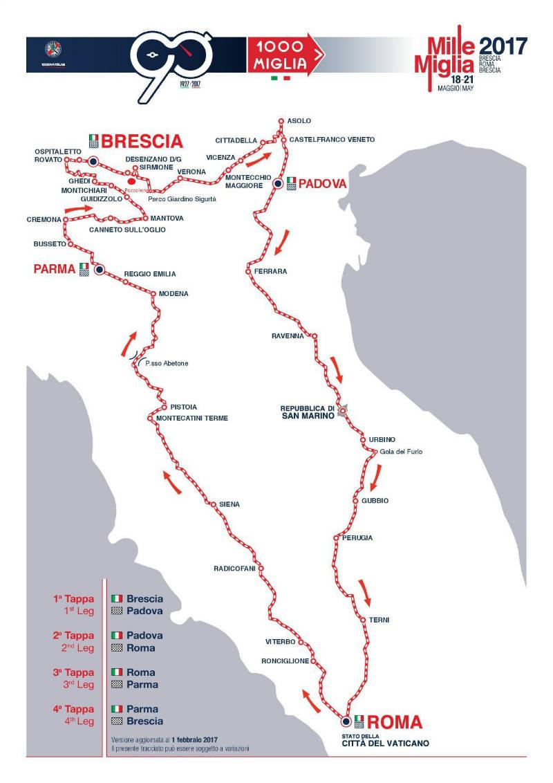 percorso-Millemiglia-2017---ok Millemiglia 2017